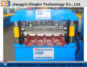 Wall Panel Steel Sheet Roll Forming Machine In Construction For Outdoor Decoration
