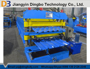 Steel Tile Forming Machine with PLC Control System for Industry and Civilian Building