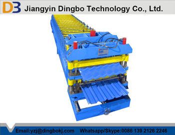 5.5kw Metal Steel Tile Forming Machine for Convenient Construction