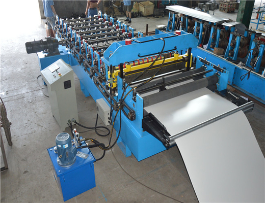 Bemo Standing Steel Tile Forming Machine For Colored Galvanized Sheet